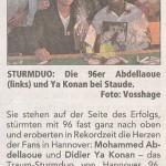Neue Presse vom 25.01.2011